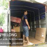 Dịch vụ cho thuê xe tải chở hàng Phi Long tại phố Bà Triệu-Hà Đông