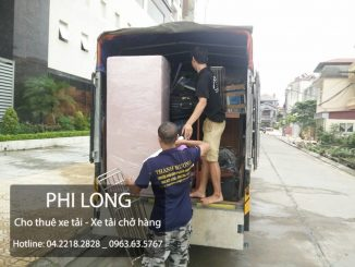 Taxi tải Phi Long cho thuê xe tải tại phố Trần Nhật Duật