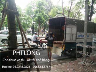 Cho thuê xe tải chuyển nhà giá rẻ tại phố Nguyễn Viết Xuân