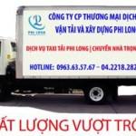 Taxi tải giá rẻ tại phố Hàng Mã