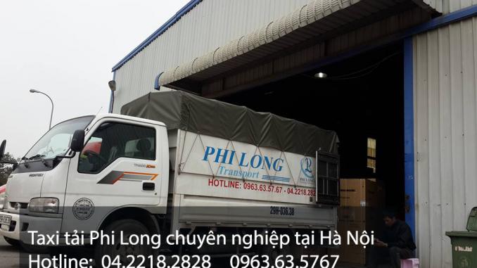 Cho thuê xe tải 1,4 tấn Phi Long tại Hà Nội.