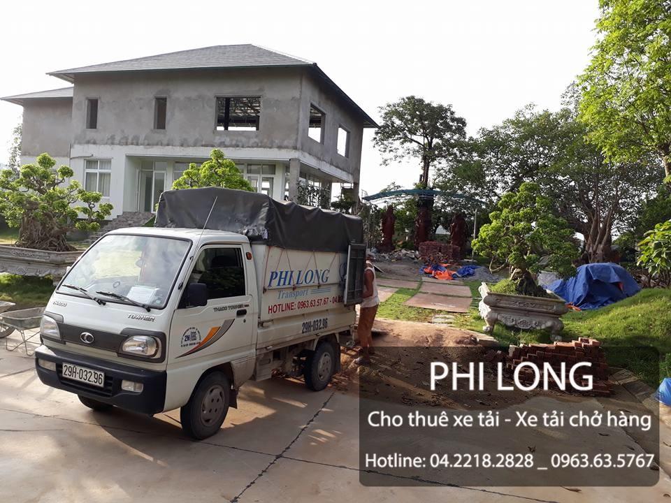 Taxi tải Phi Long hãng cho thuê xe tải chuyển nhà chuyên nghiệp tại đường Phùng Hưng