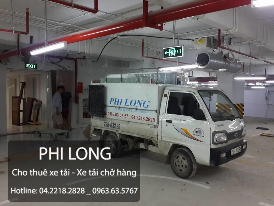 Cho thuê xe tải giá rẻ tại đường Phùng Hưng