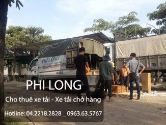 Dịch vụ cho thuê xe tải chuyển nhà giá rẻ tại phố Lê Hồng Phong