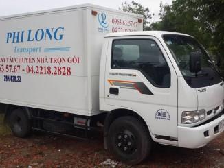 Công ty Phi Long cho thuê xe tải chuyển nhà tại phố Nguyễn Tuân