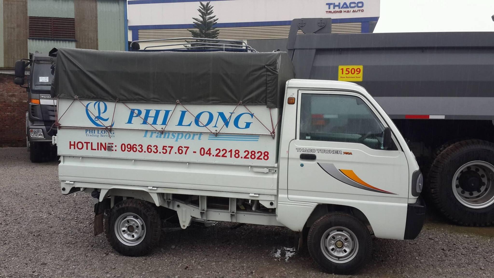 Taxi tải chuyển nhà trọn gói Phi Long tại phố Vũ Tông Phan