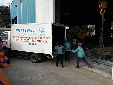 Cho thuê xe tải giá rẻ Phi Long tại phố Lương Thế Vinh