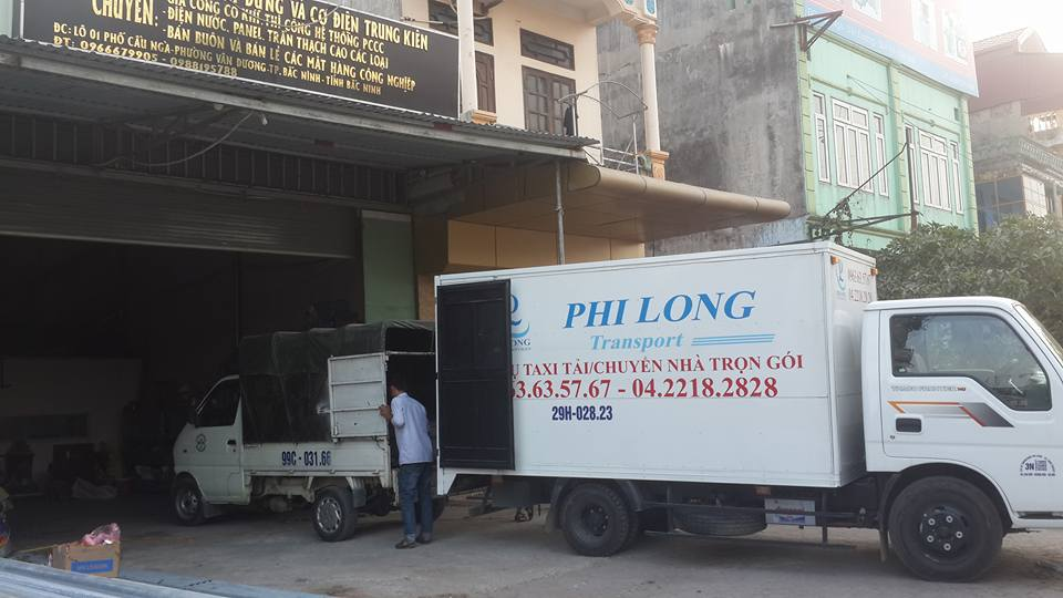 Phi Long cho thuê xe tải chuyển nhà giá rẻ tại phố Định Công