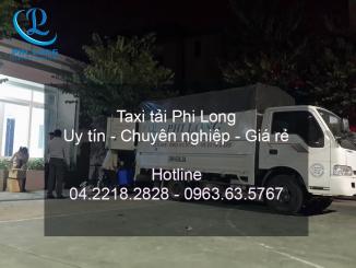 Vận tải Phi Long cung cấp cho thuê xe tải tại phố Nguyễn Trãi
