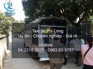 Cho thuê xe tải chuyển nhà giá rẻ tại huyện Ba Vì