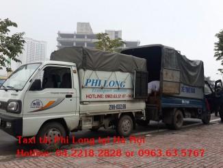 Cho thuê xe tải giá rẻ tại phố Quan Nhân Phi Long