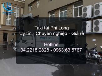 Công ty Phi Long chuyên cung cấp cho thuê xe tải tại huyện Mê Linh