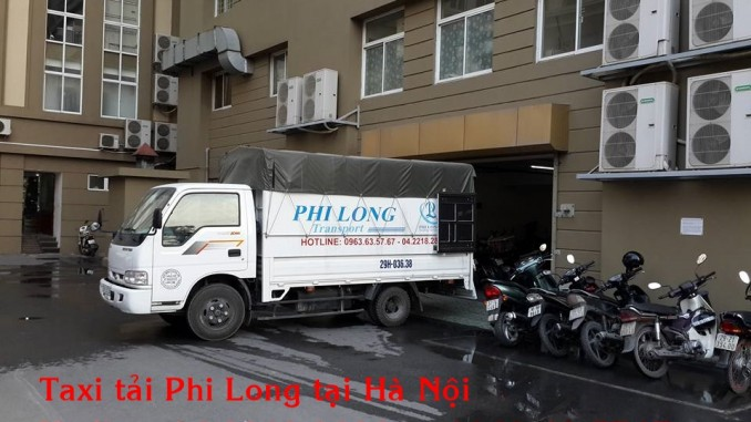 Công ty Phi Long cho thuê xe tải chuyển nhà giá rẻ tại phố Hoàng Ngân