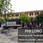 Dịch vụ cho thuê xe tải chở hàng giá rẻ tại phố Bế Văn Đàn