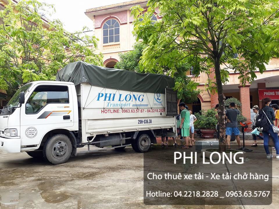 Phi Long cho thuê xe tải uy tín tại phố Trần Khánh Dư