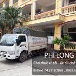 Dịch vụ cho thuê xe tải tại phố Trần Khánh Dư