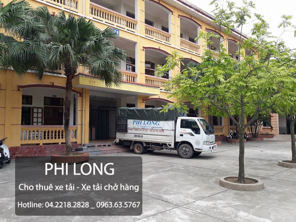 Dịch vụ cho thuê xe tải chở hàng giá rẻ tại phố Trần Nhật Duật