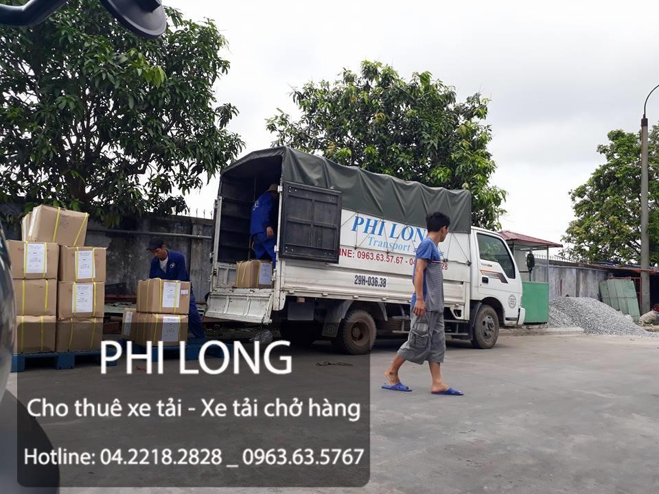 Cho thuê xe tải giá rẻ tại phố Lê Lợi