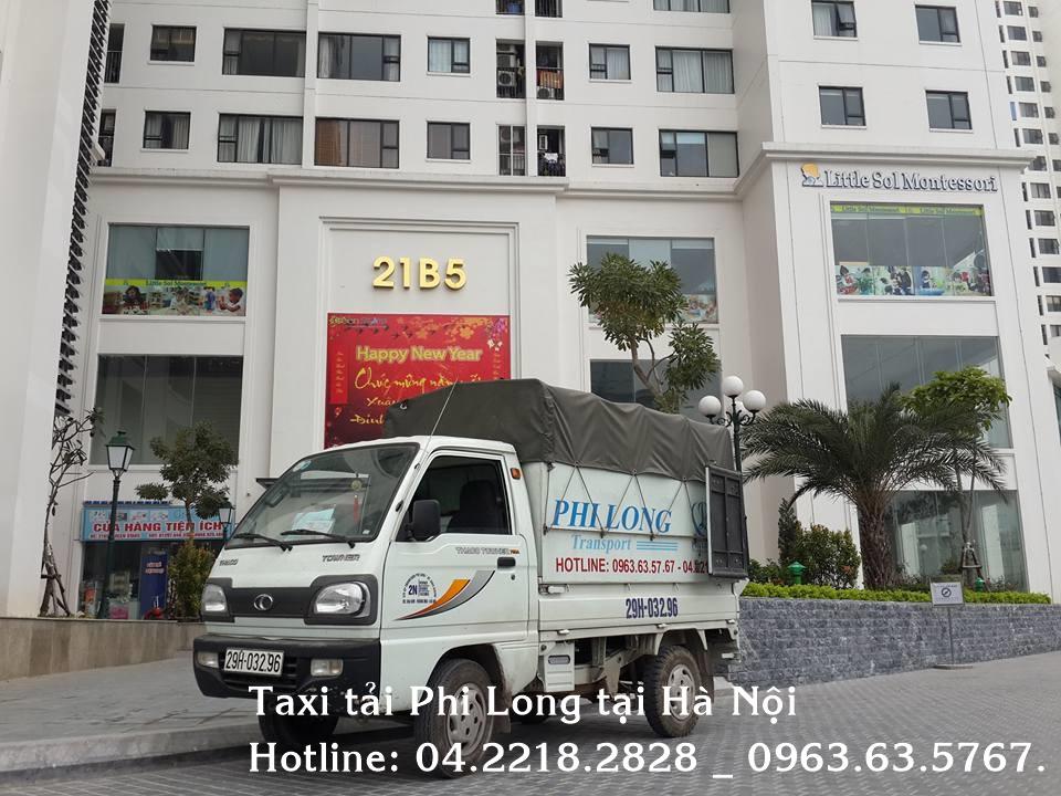 Dịch vụ vận tải Phi Long cung cấp cho thuê xe tải tại quận Hoàn Kiếm