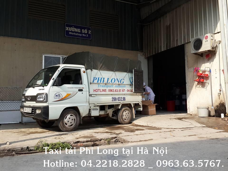 Dịch vụ cho thuê xe tải chuyển nhà tại đường Yên Xá