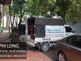 Taxi tải chuyển nhà giá rẻ Phi Long tại Hoàng Ngọc Phách