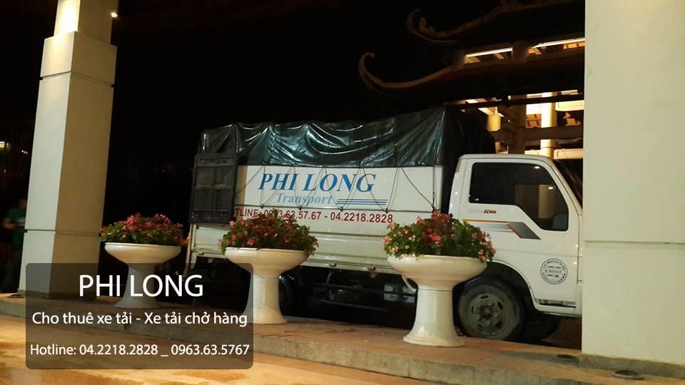 Cho thuê xe tải giá rẻ tại phố Nguyễn Thị Định