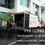 Dịch vụ cho thuê xe tải chuyển nhà giá rẻ chuyên nghiệp tại phố Văn Quán