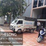 Phi Long cho thuê xe tải chở hàng giá rẻ tại phố Chu Văn An