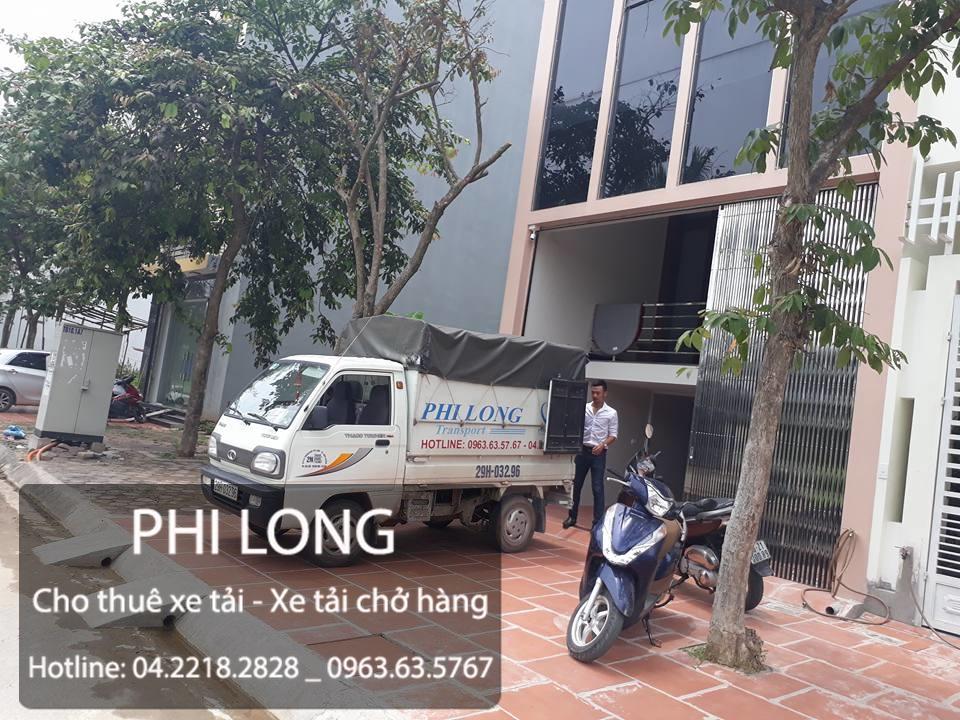 Cho thuê xe tải chở hàng hóa giá rẻ tại phố Văn Quán