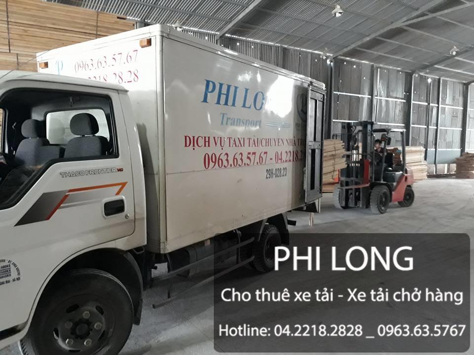 Cho thuê xe tải chở hàng tại phố Chu Văn An