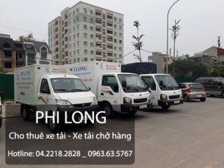 Cho thuê xe tải chở hàng giá rẻ tại phố Nguyễn Khoái