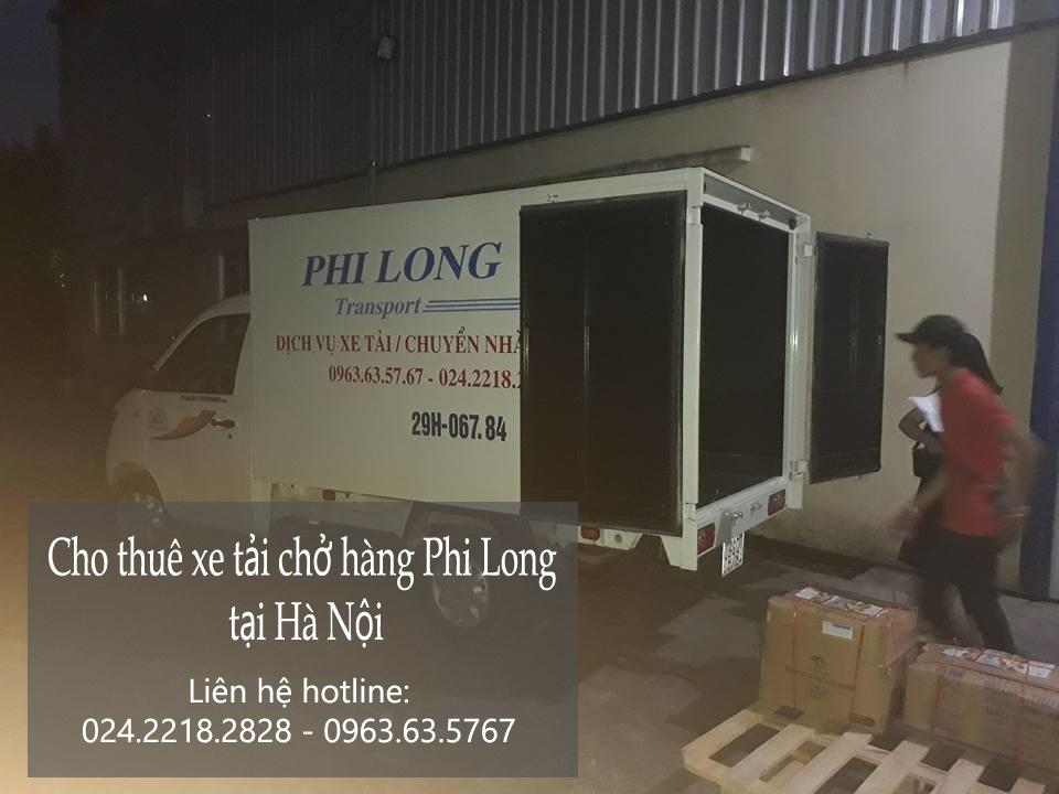 Dịch vụ cho thuê xe tải chở hàng giá rẻ tại phố Bạch Đằng
