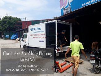 Dịch vụ cho thuê xe tải 1 tấn tại phố Bùi Xương Thạch