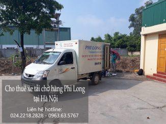 Cho thuê xe taxi tải giá rẻ tại phố Yên Nội