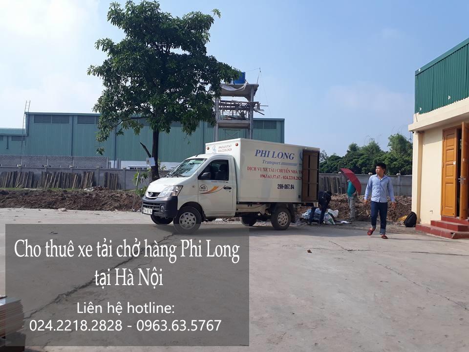 Cho thuê taxi tải giá rẻ tại phố Phúc Hoa