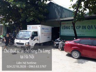 Cho thuê xe taxi tải giá rẻ tại phố Vĩnh Hồ