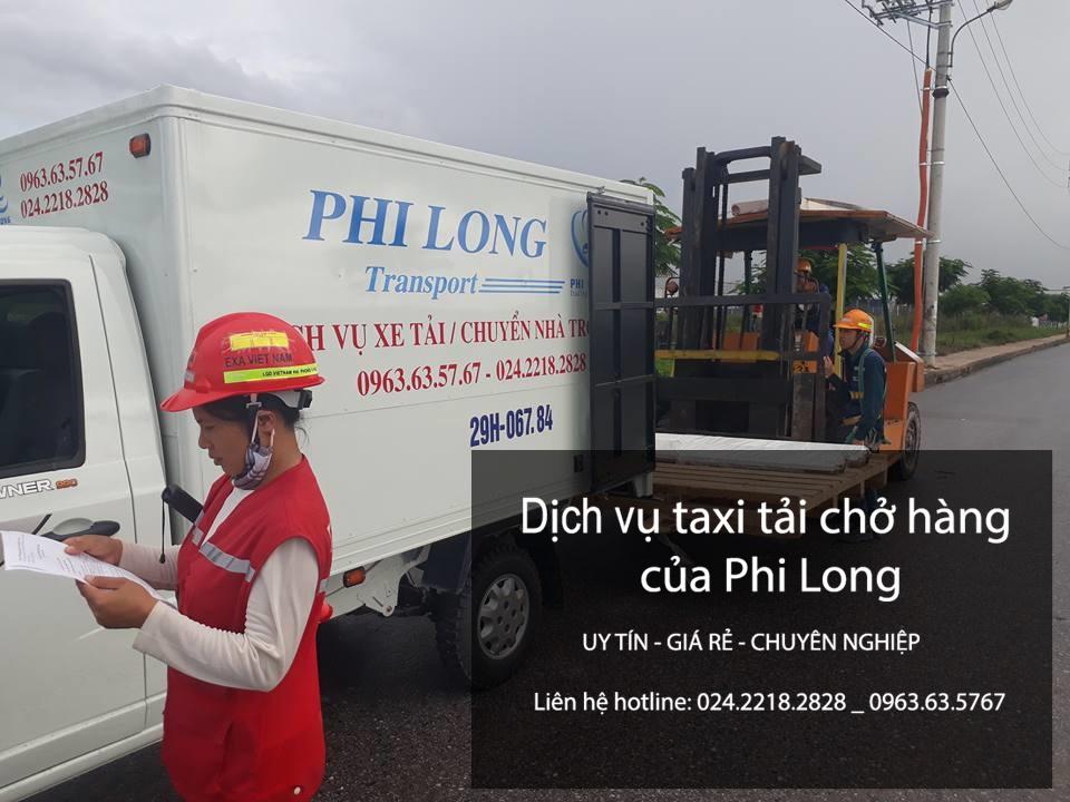Taxi tải Phi Long cho thuê xe tải chở hàng giá rẻ tại phố Mạc Thị Bưởi