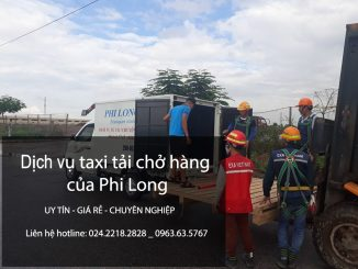 Cho thuê xe taxi tải nhỏ chở hàng tại phố Hồng Mai - 0963.63.5767