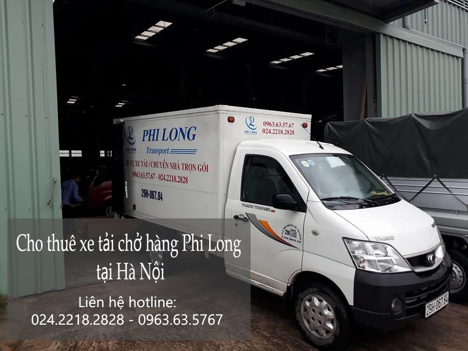 Dịch vụ cho thuê xe tải uy tín tại phố Trần Danh Tuyên-0963.63.5767