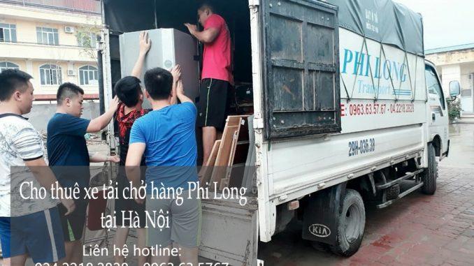 Bạn đang cần thuê xe tải chở hàng giá rẻ tại phố Lê Thánh Tông liên hệ Phi Long