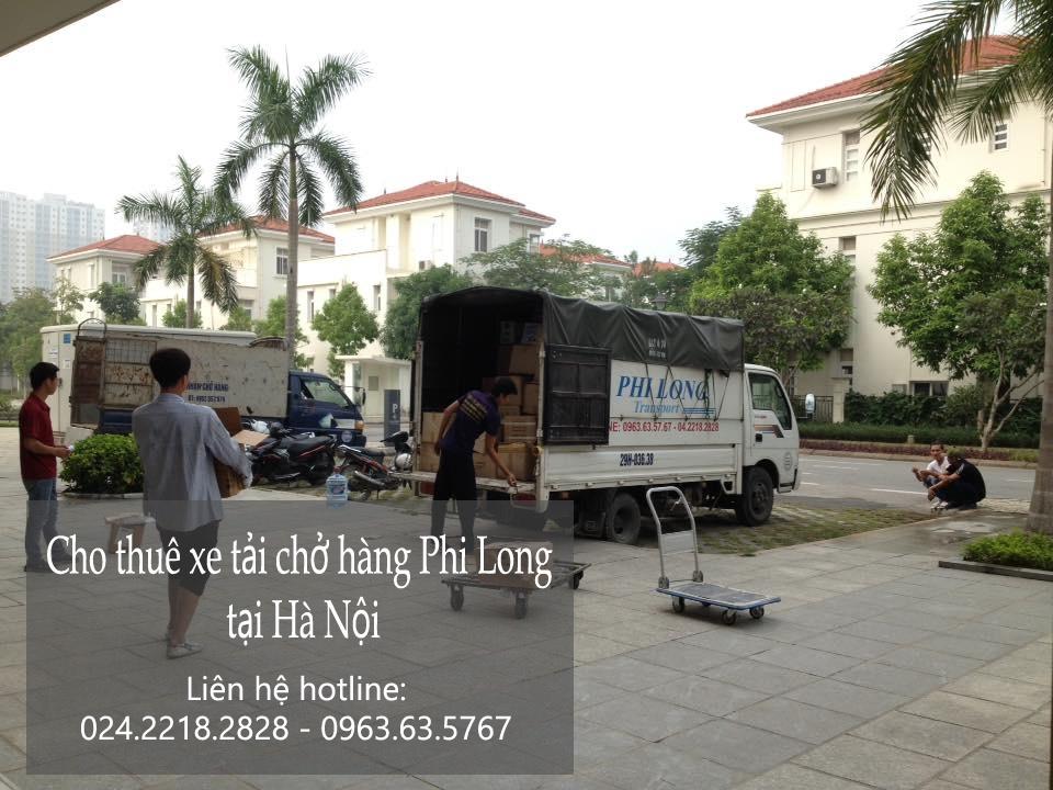 Cho thuê xe tải giá rẻ tại phố Hoàng Tích Trí