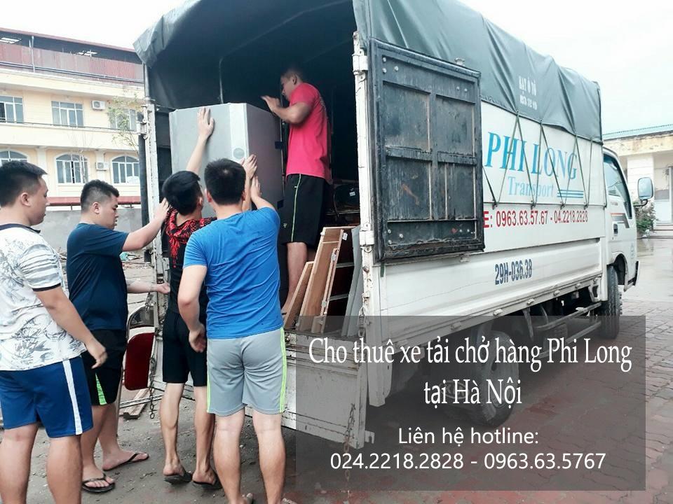 Cho thuê xe tải 5 tạ giá rẻ tại phố Nguyên Khiết-0963.63.5767
