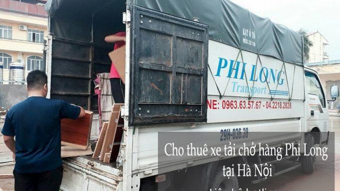 Dịch vụ cho thuê xe tải uy tín giá rẻ tại phố Phạm Ngũ Lão