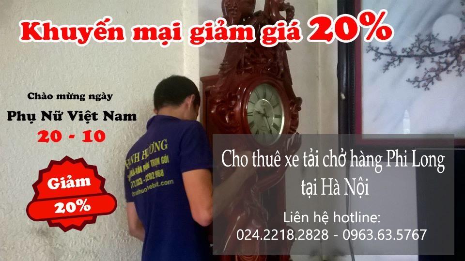 Dịch vụ cho thuê xe taxi tải giá rẻ tại phố Đặng Thái Thân