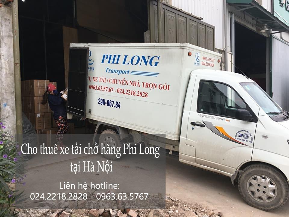 Cho thuê xe tải nhỏ giá rẻ tại phố Ỷ Lan
