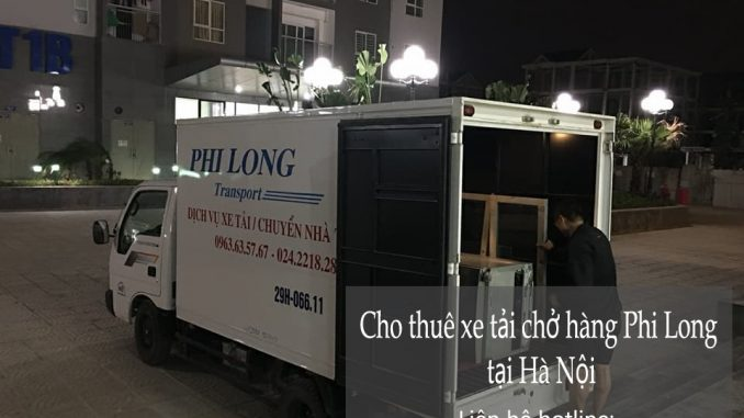 Cho thuê xe tải giá rẻ tại phố Phó Đức Chính