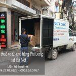 Cho thuê xe tải giá rẻ tại phố Thanh Yên