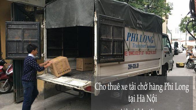 Dịch vụ cho thuê xe taxi tải giá rẻ tại phố Thượng Thanh