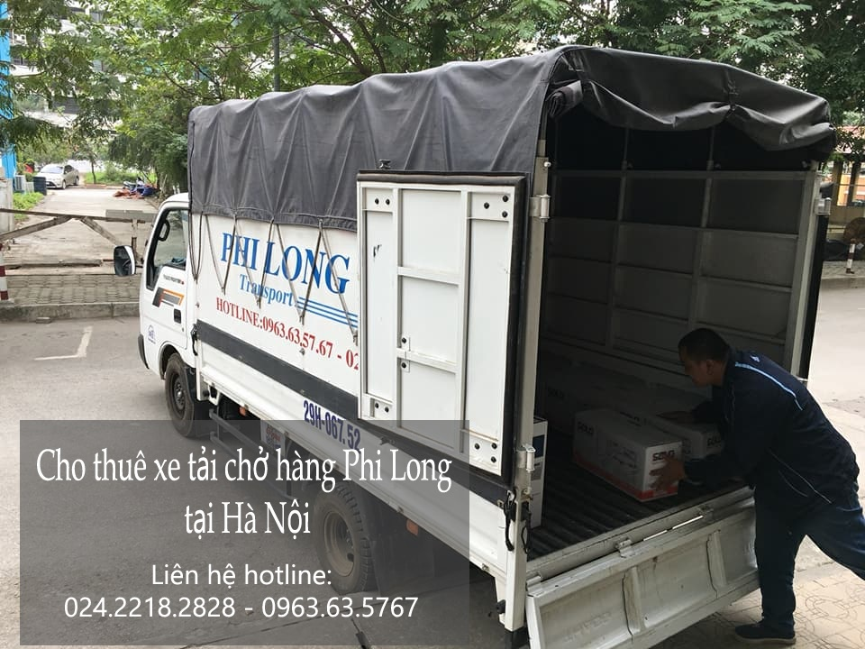 Cho thuê taxi tải giá rẻ tại phố Quán Thánh