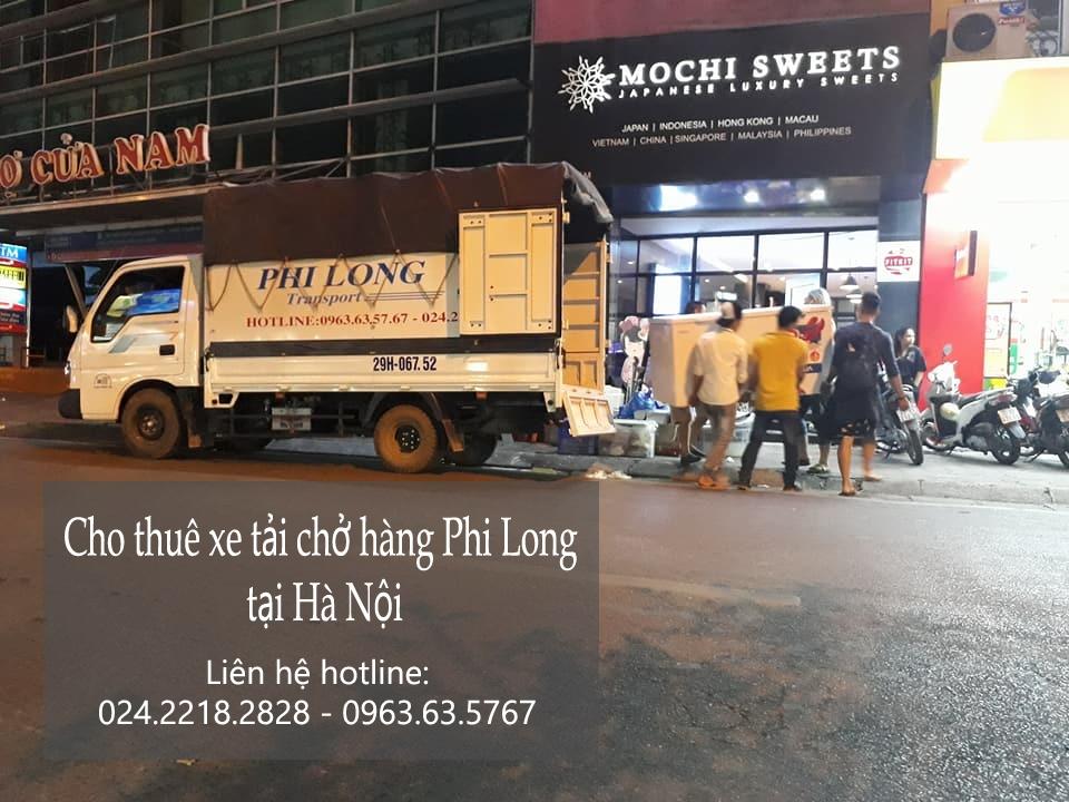 Cho thuê taxi tải giá rẻ tại phố Trần Quang Diệu